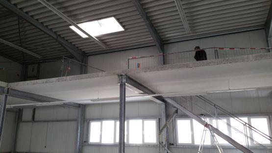 Umbau Ausstellungsgebäude Hailo Haiger, Baujahr 2017