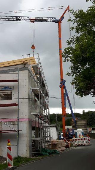Beton-, und Maurerarbeiten Werkstatt mit Wohnung Pfeifer, Baujahr 2017