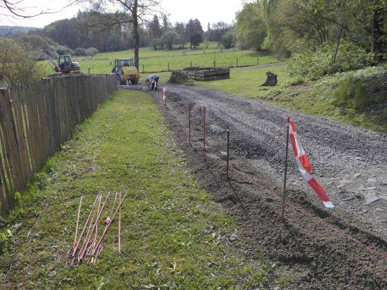 Feldwege- und Radwegebau