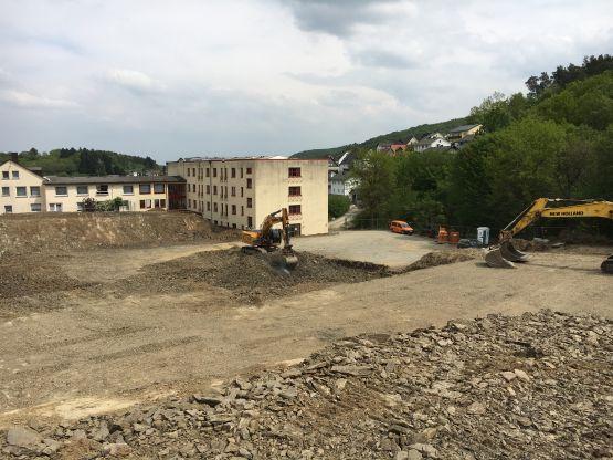 Erdarbeiten Rheumazentrum Bad Endbach, Baujahr: 2016