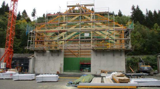Salzlagerhalle Dillenburg, Baujahr 2015
