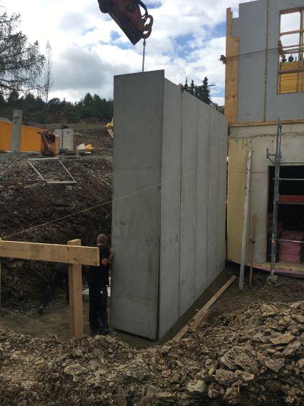 Betonarbeiten Rheumazentrum Bad Endbach, Baujahr 2016
