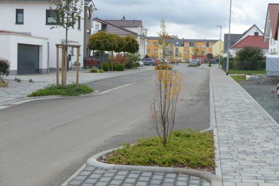 Erschließung von Baugebieten